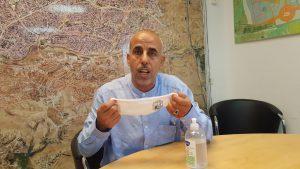 الشيخ فايز أبو صهيبان رئيس بلدية رهط